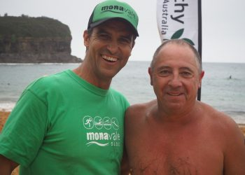 Bryce with fellow long-term Club member Les Macedo